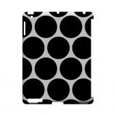 Big & Black Geeks Designer Line Polka Dot Series Slim Hard Case for Apple iPad (3rd & 4th Gen.)