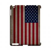 Grunge United States Geeks Designer Line Flag Series Slim Hard Case for Apple iPad (3rd & 4th Gen.)