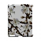 White Cherry Blossom - Geeks Designer Line Floral Series Hard Case for Apple iPad (3rd & 4th Gen.)