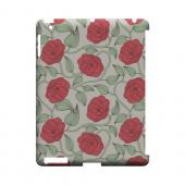 Roses & Vines - Geeks Designer Line Floral Series Hard Case for Apple iPad (3rd & 4th Gen.)