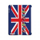 Multi Mini Coopers on Union Jack - Geeks Designer Line Auto Series Hard Case for Apple iPad (3rd & 4th Gen.)