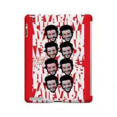 Che Guevara Happy Revolutionary Multi-Face on Red - Geeks Designer Line Revolutionary Series Hard Case for Apple iPad (3rd & 4th Gen.)