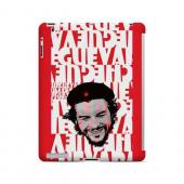Che Guevara Happy Revolutionary on Red - Geeks Designer Line Revolutionary Series Hard Case for Apple iPad (3rd & 4th Gen.)