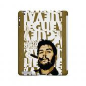Che Guevara Smoke White Letters - Geeks Designer Line Revolutionary Series Hard Case for Apple iPad (3rd & 4th Gen.)