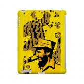 Yellow Fidelity - Geeks Designer Line Revolutionary Series Hard Case for Apple iPad (3rd & 4th Gen.)