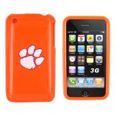 NCAA Licensed Apple iPhone 3Gs 3G Hard Case - Clemson Tigers