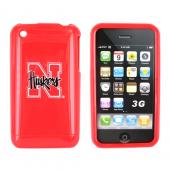 NCAA Licensed Apple iPhone 3Gs 3G Hard Case - Nebraska Cornhuskers