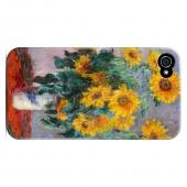 Claude Monet Bouquet of Sunflowers Geeks Designer Line Artist Series Slim Hard Case for Apple iPhone 4/4S