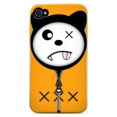 XXX - Geeks Designer Line Hoodie Kitty Series Matte Case for Apple iPhone 4/4S