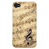 Allegro Grunge - Geeks Designer Line Music Series Matte Case for Apple iPhone 4/4S