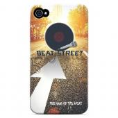 Beatstreet - Geeks Designer Line Music Series Matte Case for Apple iPhone 4/4S