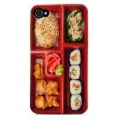 Bento Box - Geeks Designer Line Humor Series Matte Case for Apple iPhone 4/4S