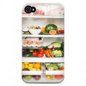 Refrigerator - Geeks Designer Line Humor Series Matte Case for Apple iPhone 4/4S