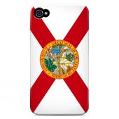 Florida - Geeks Designer Line Flag Series Matte Back Case for Apple iPhone 4/4S