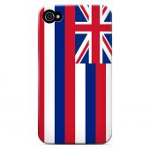 Hawaii - Geeks Designer Line Flag Series Matte Back Case for Apple iPhone 4/4S