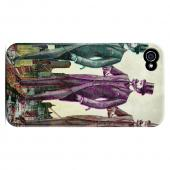 New York Like A Sir Americana Nostalgia Series GDL Ultra Slim Hard Case for Apple iPhone 4/4S Geeks Designer Line
