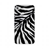 Zebra Print Animal Series GDL Ultra Matte Hard Case for Apple iPhone 4/4S Geeks Designer Line