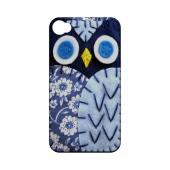 Night Blue Owl Geek Nation Program Exclusive Jodie Rackley Series Hard Case for Apple iPhone 4/4S