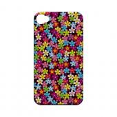 Multi-Colored Flowers - Geeks Designer Line Floral Series Matte Case for Apple iPhone 4/4S