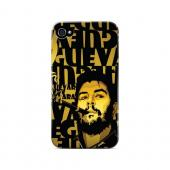 Che Guevara Smoke Gold - Geeks Designer Line Revolutionary Series Matte Case for Apple iPhone 4/4S