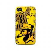 Yellow Fidelity - Geeks Designer Line Revolutionary Series Matte Case for Apple iPhone 4/4S