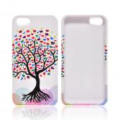Apple iPhone 5/5S Hard Case - Love Tree on White