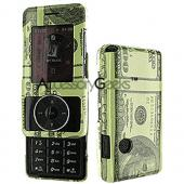 LG Chocolate VX8500 Protective Case - Hundred Dollar Bill