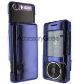 LG Chocolate VX8500 Protective Case - Transparent Blue
