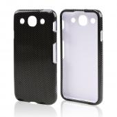 Gray Carbon Fiber Design Hard Case for LG Optimus G Pro