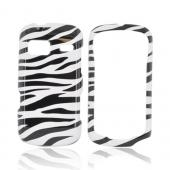 LG Rumor Reflex Hard Case - Black/ White Zebra