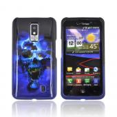 LG Spectrum Hard Case - Blue Skull