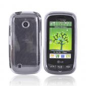 LG Cosmos Touch VN270 Hard Case - Transparent Smoke