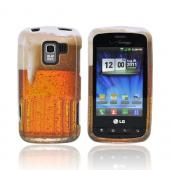 LG Enlighten VS700 Hard Case - Golden Beer