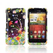 LG Revolution, LG Esteem Hard Case - Flower Art