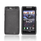 Motorola Droid RAZR Hard Case - Carbon Fiber