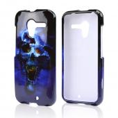 Blue Skull Hard Case for Motorola Moto X