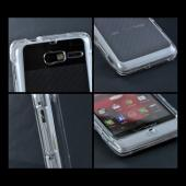 Motorola Droid RAZR M Hard Case - Transparent Clear