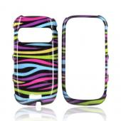 Nokia Astound C7-00 Hard Case - Rainbow Zebra