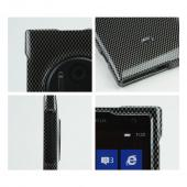 Gray/ Black Carbon Fiber Design Hard Case for Nokia Lumia 1020