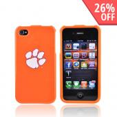 NCAA Licensed Apple Verizon/ AT&T iPhone 4, iPhone 4S Hard Case - Clemson Tigers