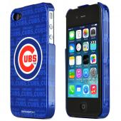 MLB Licensed AT&T/Verizon Apple iPhone 4, iPhone 4S Hard Case - Chicago cubs