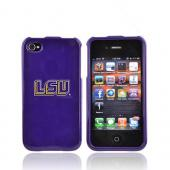 NCAA Licensed Apple Verizon/ AT&T iPhone 4, iPhone 4S Hard Case - Louisiana State Tigers