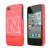 NCAA Licensed Apple Verizon/ AT&T iPhone 4, iPhone 4S Hard Case - Nebraska Cornhuskers