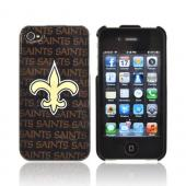 NFL Licensed Apple iPhone 4/4S Hard Case - New Orleans Saints