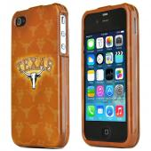NCAA Licensed Apple Verizon/ AT&T iPhone 4, iPhone 4S Hard Case - Texas Longhorns