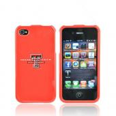 NCAA Licensed Apple Verizon/ AT&T iPhone 4, iPhone 4S Hard Case - Texas Tech Red Raiders