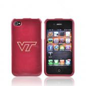 NCAA Licensed Apple Verizon/ AT&T iPhone 4, iPhone 4S Hard Case - Virginia Tech Hokies
