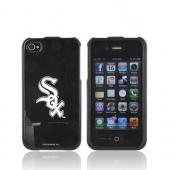 MLB AT&T/ Verizon Apple iPhone 4, iPhone 4S Hard Case - Chicago White Sox