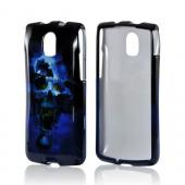 Blue Skull Hard Case for Pantech Discover