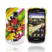 Samsung Droid Charge Hard Case - Colorful Pirate Bay on White